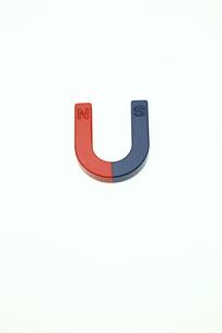 U磁石の写真素材 [FYI00313365]
