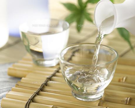 日本酒の写真素材 [FYI00313376]