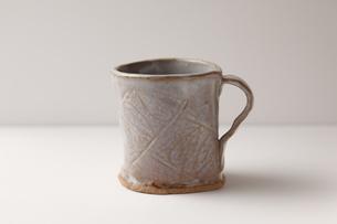 陶器のカップの写真素材 [FYI00313450]