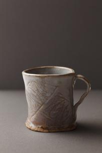 陶器のカップの写真素材 [FYI00313456]