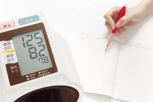 血圧の写真素材 [FYI00313460]