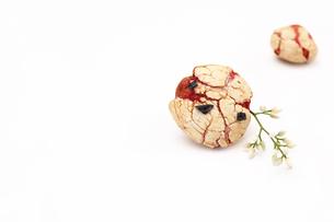 豆菓子と南天のつぼみの写真素材 [FYI00313464]