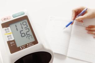 血圧レクチャーの写真素材 [FYI00313471]