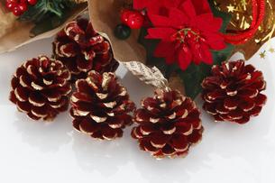 クリスマスデコレーションの写真素材 [FYI00313518]