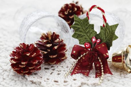 クリスマスデコレーションの写真素材 [FYI00313546]
