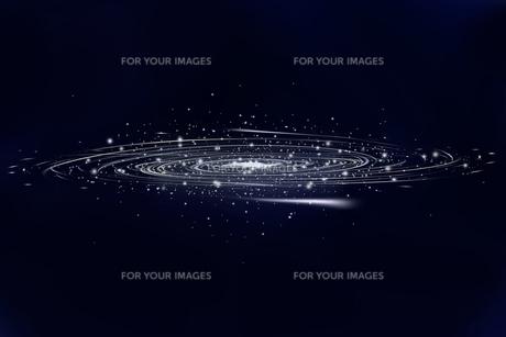 銀河の写真素材 [FYI00313554]
