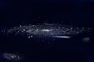 銀河の写真素材 [FYI00313557]