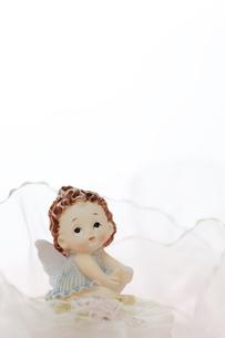 夢見る天使の写真素材 [FYI00313604]