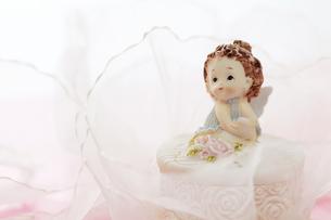 夢見る天使の写真素材 [FYI00313618]