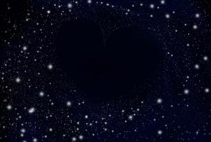 ハートの銀河の写真素材 [FYI00313625]