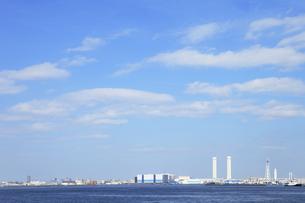 横浜港山下公園からの眺めの写真素材 [FYI00313636]