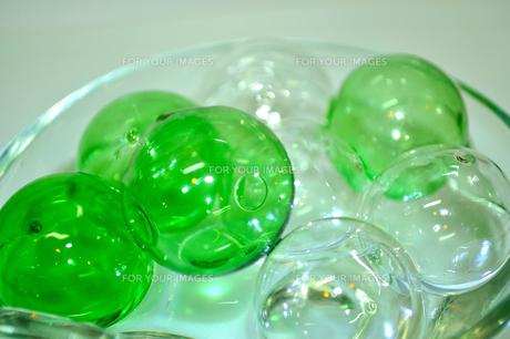 ガラスの玉の写真素材 [FYI00313702]