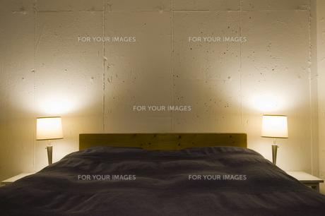 ベッドルームの写真素材 [FYI00313831]