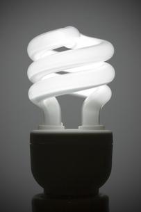 スパイラル蛍光灯の写真素材 [FYI00313852]