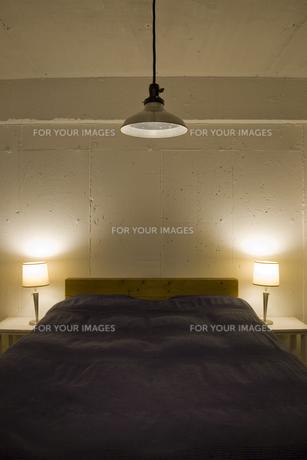 ベッドルームの写真素材 [FYI00313853]