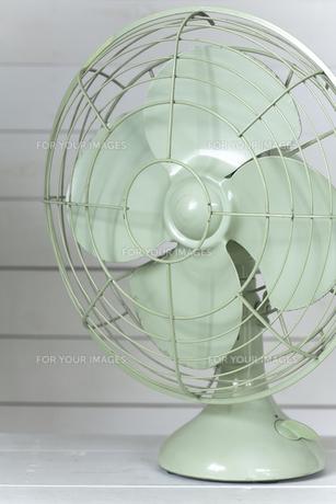レトロな扇風機の写真素材 [FYI00313862]