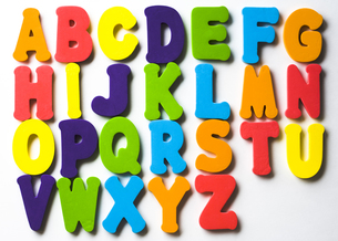 アルファベットの写真素材 [FYI00313886]
