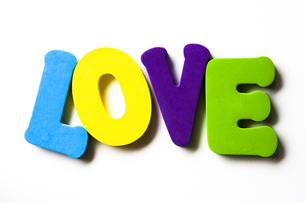 LOVEの写真素材 [FYI00313898]