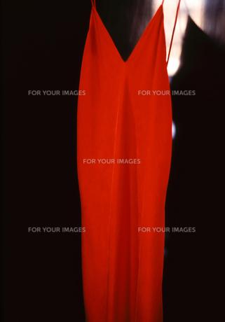 赤いドレスの写真素材 [FYI00314174]