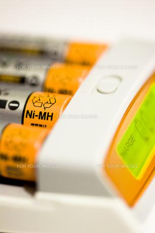 ニッケル水素電池、充電中の素材 [FYI00314279]
