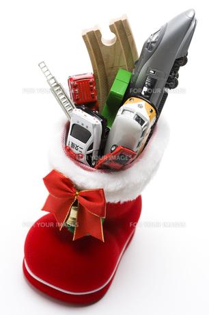 クリスマスプレゼントの写真素材 [FYI00314371]