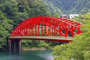 赤い橋の写真素材 [FYI00314496]