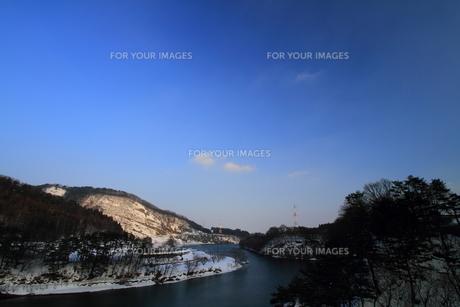 和賀の松島の冬の素材 [FYI00314605]