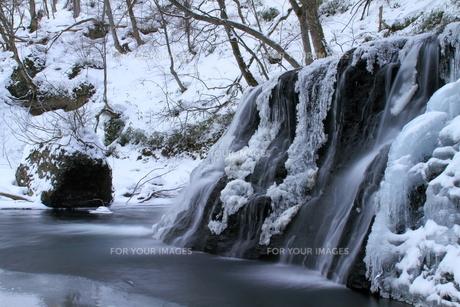 一の滝の冬の素材 [FYI00314612]
