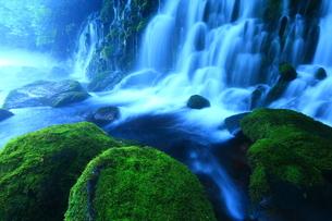 夏の元滝伏流水の写真素材 [FYI00314900]
