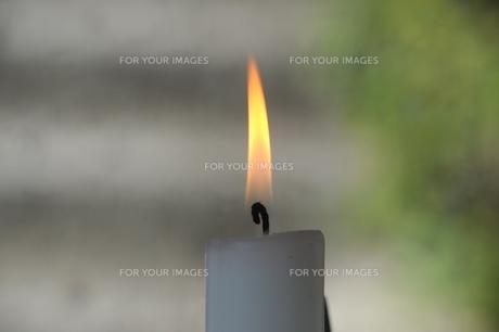 ロウソクの炎の素材 [FYI00315378]