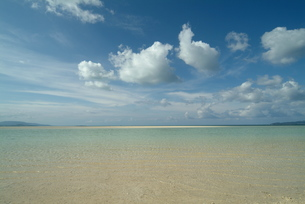 竹富島コンドイビーチ沖の素材 [FYI00315428]