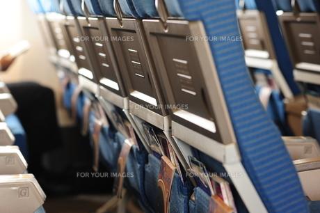 機内座席の写真素材 [FYI00315431]