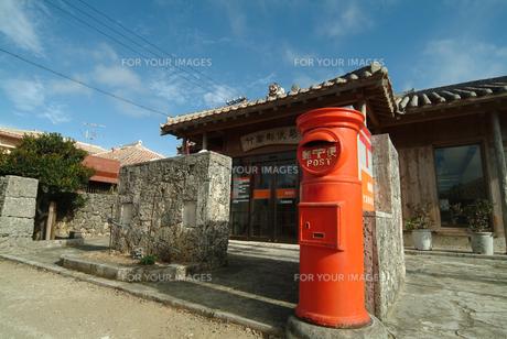 竹富島郵便局の写真素材 [FYI00315440]
