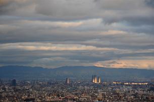 大阪遠景-2の写真素材 [FYI00315471]