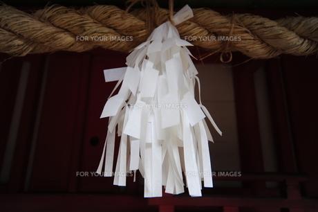 神社の紙垂の素材 [FYI00315493]