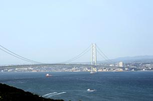 淡路島より明石海峡を臨むの写真素材 [FYI00315500]