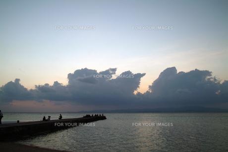 竹富島西桟橋-5の素材 [FYI00315531]