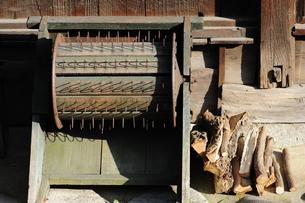 古い農機具の写真素材 [FYI00315624]