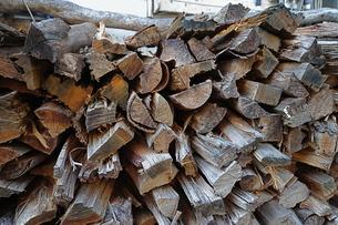 薪の写真素材 [FYI00315630]