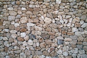 竹富島の新しい石垣の写真素材 [FYI00315672]