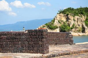 犬島銅精錬所跡の写真素材 [FYI00315728]