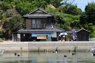 漁村の売店の写真素材 [FYI00315797]