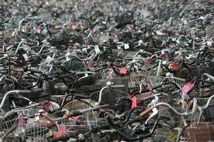 廃棄自転車2の写真素材 [FYI00315815]