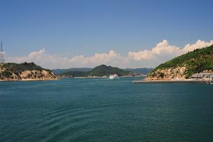 直島港からの眺めの写真素材 [FYI00315832]