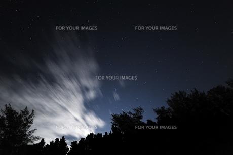 備瀬の星空の写真素材 [FYI00315835]