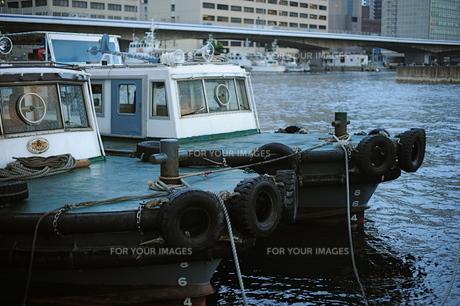 メリケン波止場のタグボート2の写真素材 [FYI00315870]
