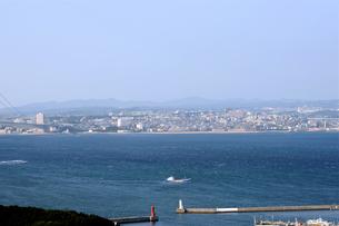 淡路島から明石海峡を臨むの写真素材 [FYI00315885]