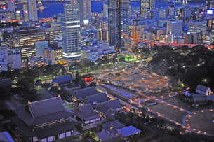 HDR東京の夜景-6の写真素材 [FYI00315950]