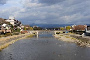 京都二条大橋を臨むの写真素材 [FYI00315977]