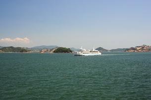 瀬戸内海のフェリー-1の写真素材 [FYI00315979]